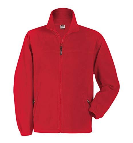 2Store24 Full-Zip Fleece in Red Size: S