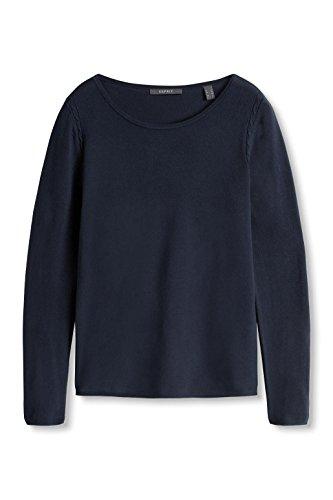 ESPRIT Collection Damen Pullover Blau (Navy 400)