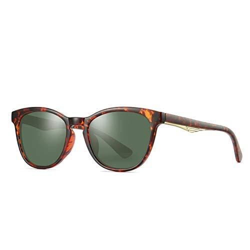 CCGSDJ Mode Dame Cat Eye Polarisierte Sonnenbrille Frauen HdObjektiv Einzigartige Rahmen Cat Eye Sonnenbrille