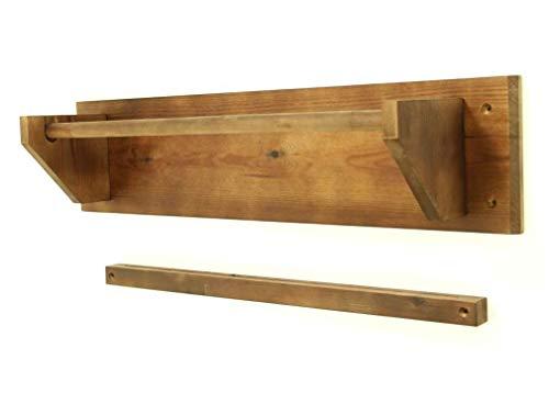 Wooden Kraft Paper Display Holder & Paper