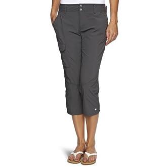 Columbia Women's Capri, SILVER RIDGE CAPRI, Nylon, Grill, Size: 8, AL8009