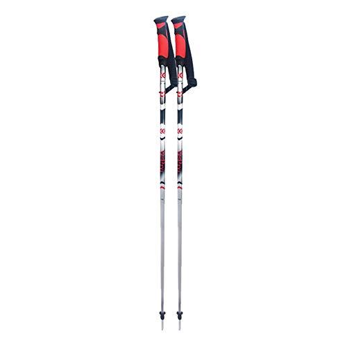 derstock Gehstöcke für Männer und Frauen Ultraleicht Aluminium-Skistöcke (größe : 125cm) ()