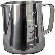 MIBRU Milk Pitcher Frothing Jug for Coffee Latte Art Espresso Steaming Pitchers for Barista | بتشر حليب لتحضير