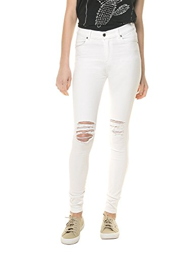 dr-denim-jeansmakers-womens-lexy-womens-white-jeans-in-size-l-white
