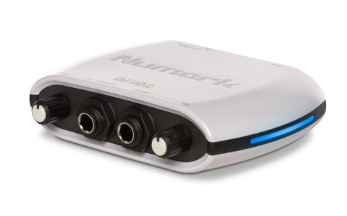 Numark DJIO II Kompakter Mobile USB DJ Audio Interface