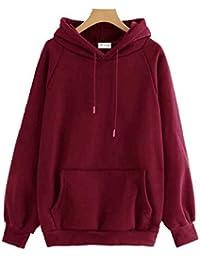 The SV Style Unisex Plain Maroon Hoodie/Graphic Printed Hoodie/Hoodie for Men & Women/Warm Hoodie/Unisex Hoodie