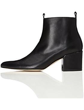 FIND Damen Ankle Boots mit Blockabsatz