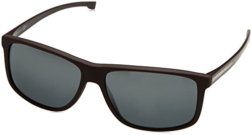 5/S CN 0I9 Sonnenbrille, Rot (Burgundy Cry/Dark Grey Speckled), 60 ()
