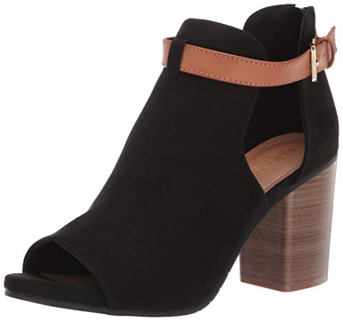 Kenneth Cole REACTION Damen Hit Hooded Bootie Stiefelette, schwarz, 35.5 EU - Cole Schwarz Kenneth Reaction-schuhe