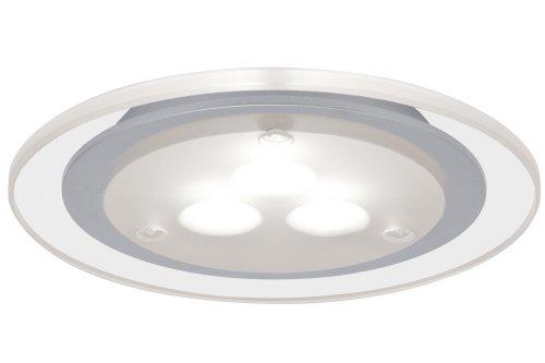Paulmann 935.43 Möbel EBL Set Deco LED 3x3W 3000K 12V NiedervoltA 100mm Chrom matt/Klar 93543 Spot Einbaustrahler Einbauleuchte