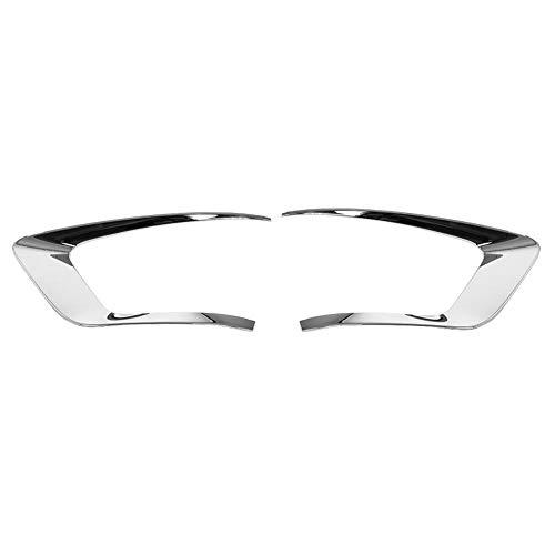 Garniture de cache antibrouillard arrière de voiture, ABS 2 pcs Cache de lampe antibrouillard arrière de voiture Garniture de queue antibrouillard arrière pour IX25 2015