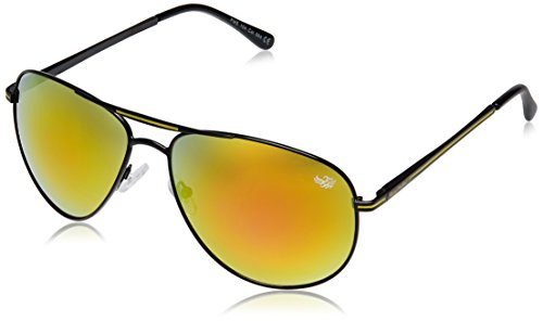 Flying Machine Aviator Sunglasses (Black) (FMS 104|004|62)  available at amazon for Rs.720