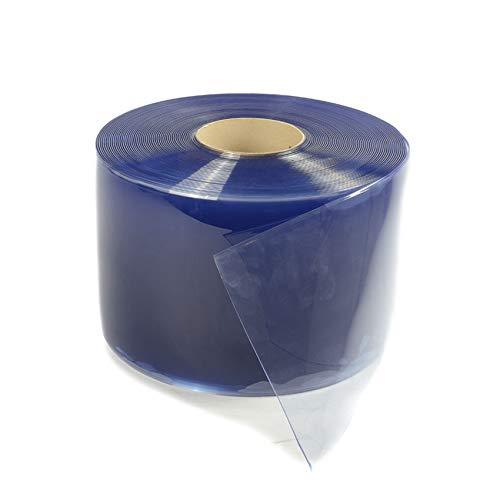 PVC Streifen transparant 400x4mm   PVC Streifenvorhänge   Gummimatten   Meterware