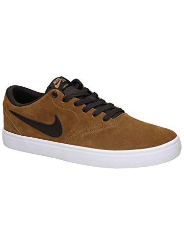 on sale 55815 bc58f Nike SB Check Solar, Zapatillas de Deporte Unisex Adulto, (Golden  Beige Velvet