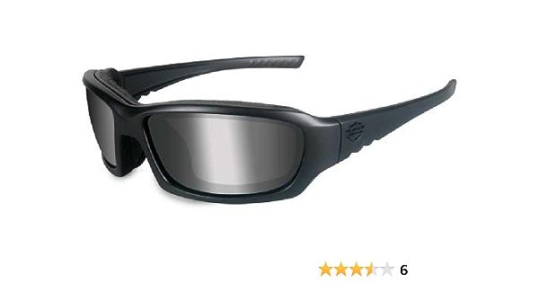 Harley Davidson Wiley X Gem Ppz Silver Flash Motorrad Brille Polarisierend Auto