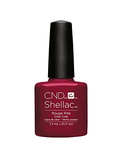 CND Shellac Vernis à ongles gel dissoluble soak-off, séchage UV - Collection Contradictions - Rituel rouge
