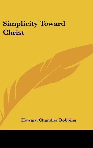 Simplicity Toward Christ