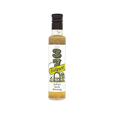 Tracklements Italian Herb Dressing 240ml - Pack of 6 by Tracklements