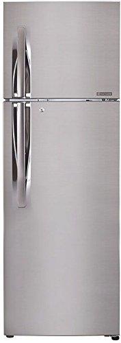 LG 255 L 3 Star Frost-Free Double-Door Refrigerator (GL-Q282RPZY, Shiny...
