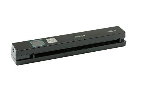 Iriscan anywhere 5 scanner portatile a batteria con memorizzazione su sd, nero