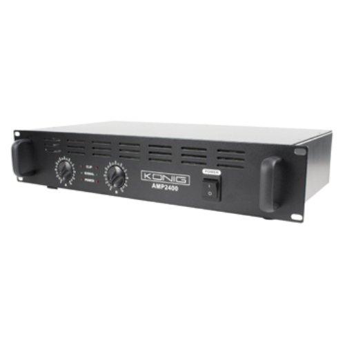 Konig PA-AMP2400-KN, Amplificatore Semi-professionale per Ambiente