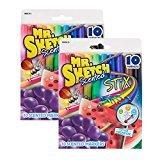 Preisvergleich Produktbild Sanford Mr.Sketch Scented Stix Watercolor Markers,  Assorted Colors,  20 / Pack - SAN03610 by Sanford