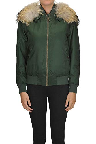 Alessandra Chamonix Fur Interior Bomber Jacket, Woman 14