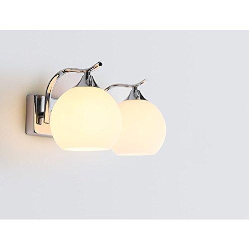 TRADE 2 leuchtet Glasschatten Leuchten Wandleuchten Metall Basis Wandleuchte für Hotel Schlafzimmer...