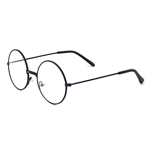 Brille - Clear Lens Glasses Frame Geek / Nerd Brillen mit Car Shape Gläser Fall - hibote (Nerd Kostüme Für Jungen)