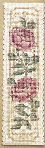 Textile Heritage Collection Cross Stitch Bookmark Kit - Damask