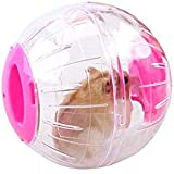 FDSHIP 15 cm Transparent Running Cum Jogging Cum Exercise Ball for Hamster/Dwarf/Gerbil/Mice/Mouse