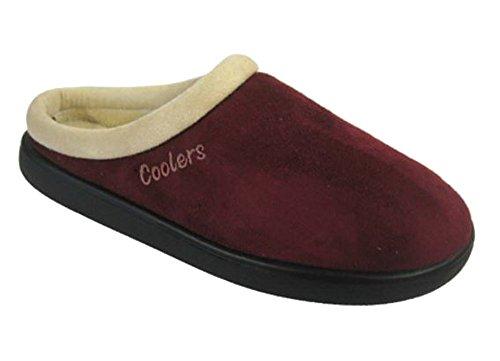 Coolers - Pantofole donna Burgundy
