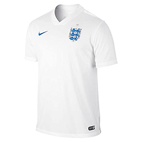 Nike Men's English Football Selection T-Shirt - White/Blue, Large