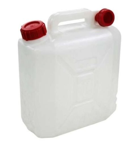 Price comparison product image 10 Litre Jerry Can Water Storage Petrol Diesel Fuel Container Spout Camping 10L.