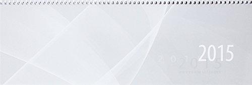 Preisvergleich Produktbild Querterminkalender 143 1 Woche/1 Seite Grau300X100Mm Spiralbindung Liefermenge = 1