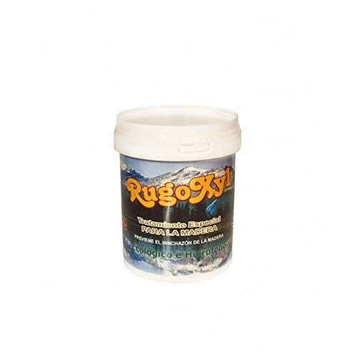 Rugoplast - Barniz al uso satinado, pintura al agua para la madera o imitación madera en balaustres, paredes, etc. Rugoxyl Incoloro