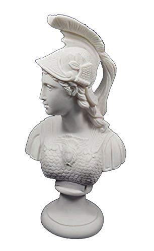 Estia Creations Athena Skulptur Brustumfang Minerva Antiken Griechischen Göttin Big Brustumfang