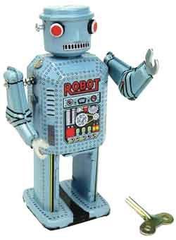 Robot-de-Hojalata-Azul-Pequeo