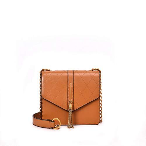 Klassische Flap Clutch (ZIHUINI Paket 2019 New Luxury Fashion Kette Quaste Schulter Messenger Bags Hohe Qualität Frauen Geldbörsen und Handtaschen Flap Clutch Geldbörse)