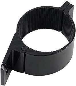 Universell Passende Schwarze Aluminium Rohrschelle ø 75 Bis 78mm Für Lampenbügel Frontbügel Überrollbügel Etc 75 78 Mm Auto