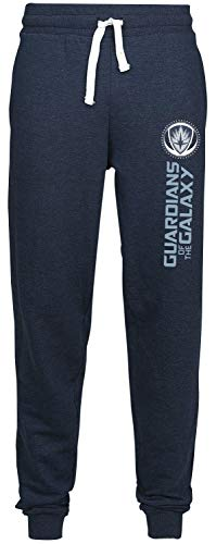 GUARDIANS OF THE GALAXY Logo Trainingshose dunkelblau meliert M