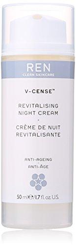 REN Skincare Crema de Noche V-CenseTM Revitalising 50ml Blanco
