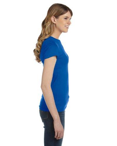 Enclume femmes Bio Drap-housse Coton Ringspun T pour homme bleu marine