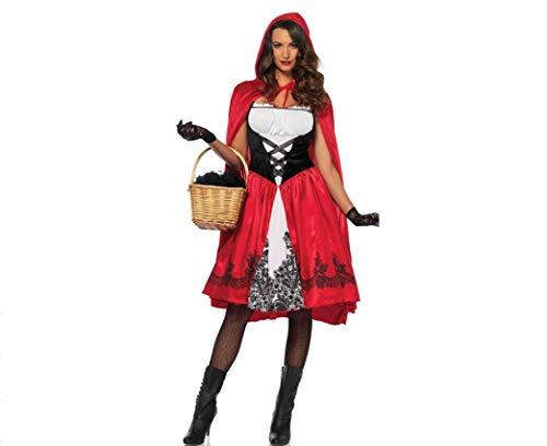 Unbekannt Halloween-Kostüme Für Frauen, Frauen Rotkäppchen Kostüm Halloween-Party Kleid Cosplay Kostüm (Weibliche Joker Kostüm Cosplay)