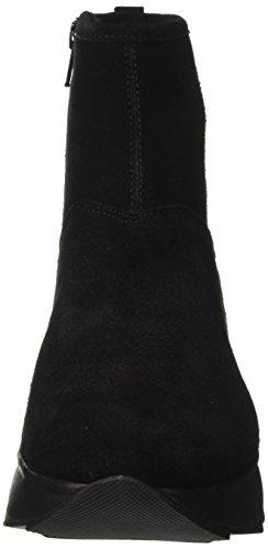Geox Damen D Gendry C Chelsea Boots Schwarz (Black)