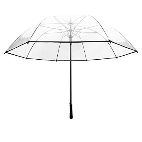 SMATI Paraguas Largo Transparente 12 Varillas Forma