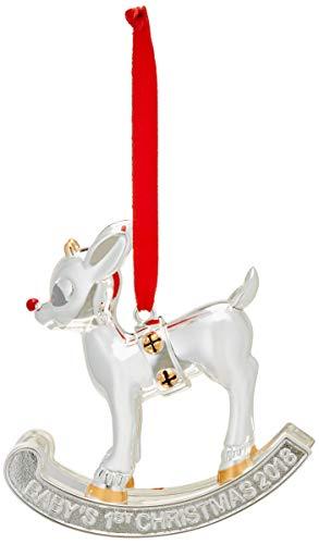 Lenox 2018 Baby's 1st Christmas Rudolph Ornament -