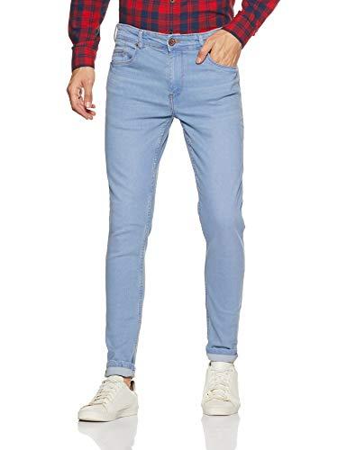 Amazon Brand - Symbol Men's Skinny Fit Jeans (AD-SK-248_Light Blue_34W x 31L)