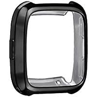 Amcool Ultradünne Weiche Plating TPU Schutzhülle Case Cover für Fitbit Versa
