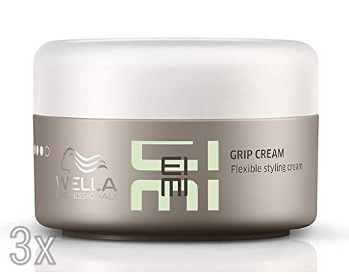 Wella Grip Cream Creme Wachs 3 x 75 ml Styling Dry Professionals